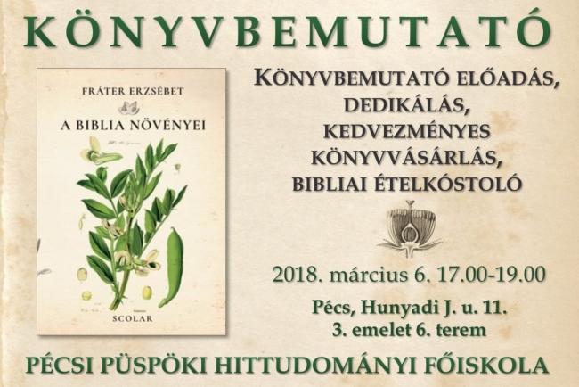 A Biblia növényei – könyvbemutató