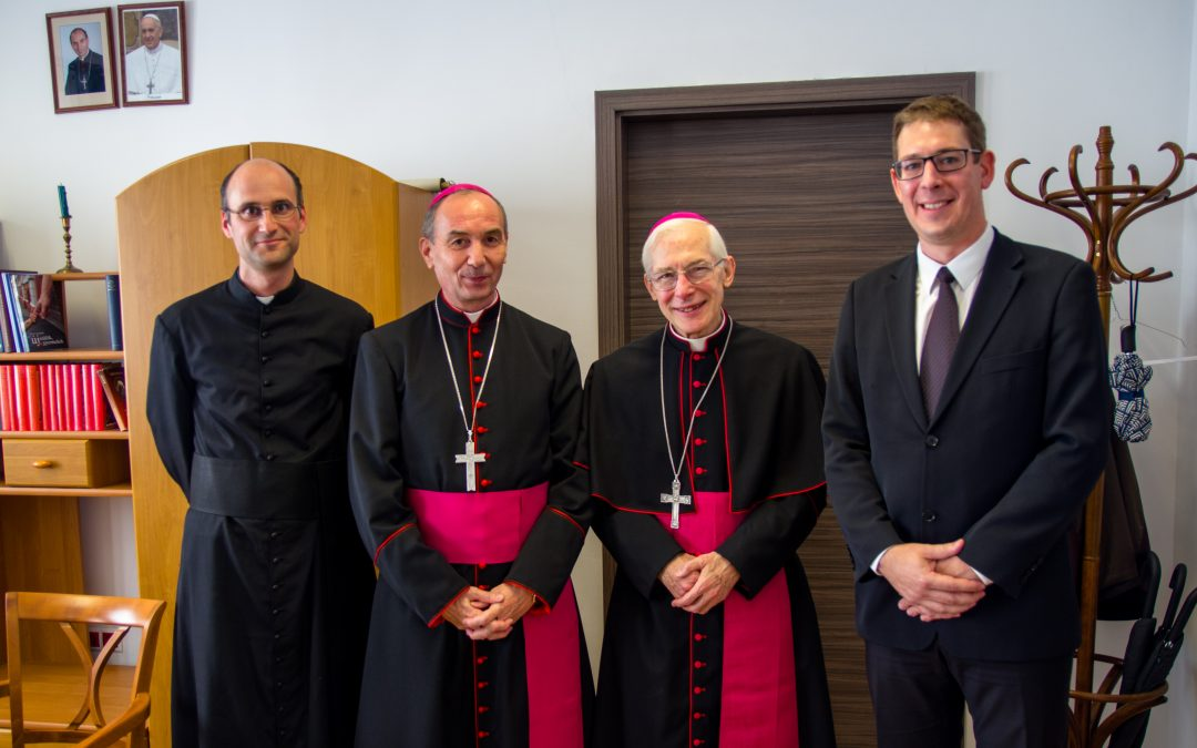 Michael August Blume SVD apostoli nuncius látogatása főiskolánkon