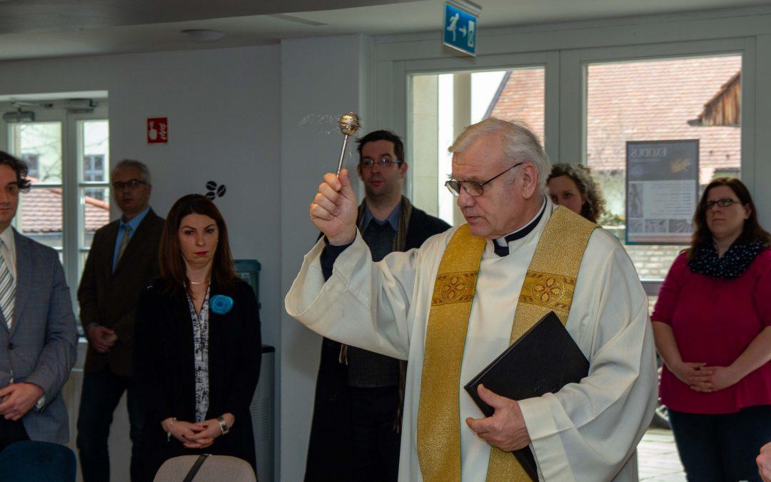 A hallgatók szolgálatában – Új terekkel bővült a Pécsi Püspöki Hittudományi Főiskola